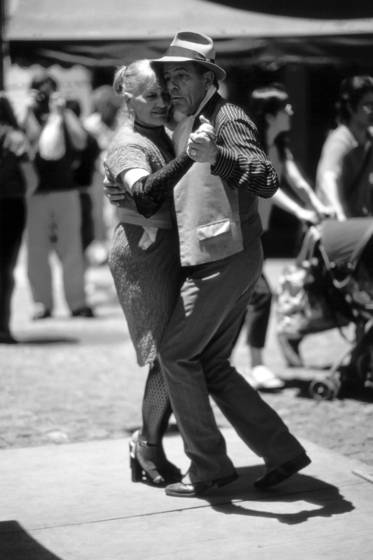 Tango in san telmo