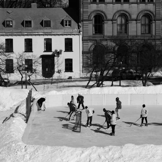 Partie de hockey