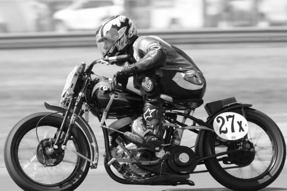 Harley tank shift vintage racer