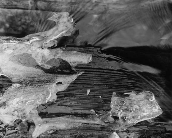 Lone pine creek ice