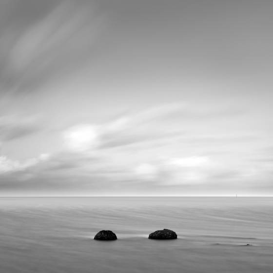 Orewa beach rocks
