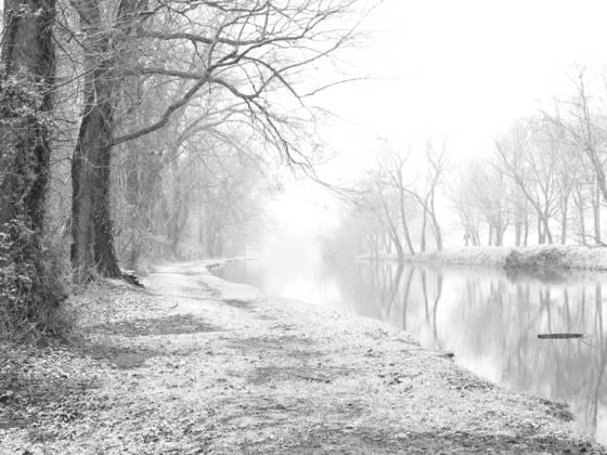 Canal snow  11