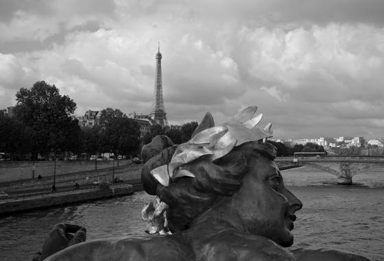 View from pont alexandre iii