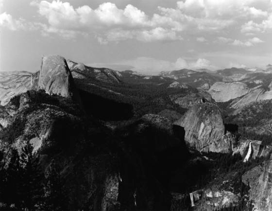 Half dome from washburn pt  yosemite