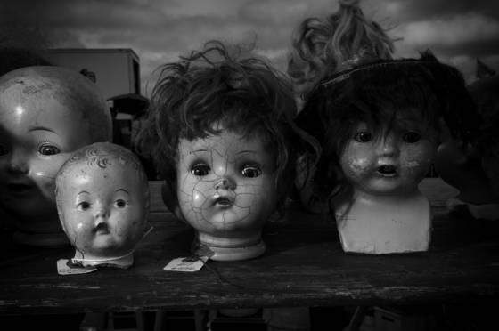 Bisque dolls