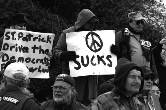 Peace sucks