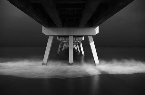 Atm under the boardwalk
