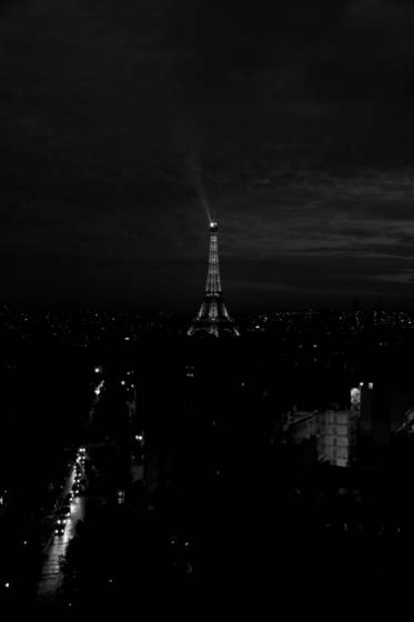 Eiffel tower nocturne