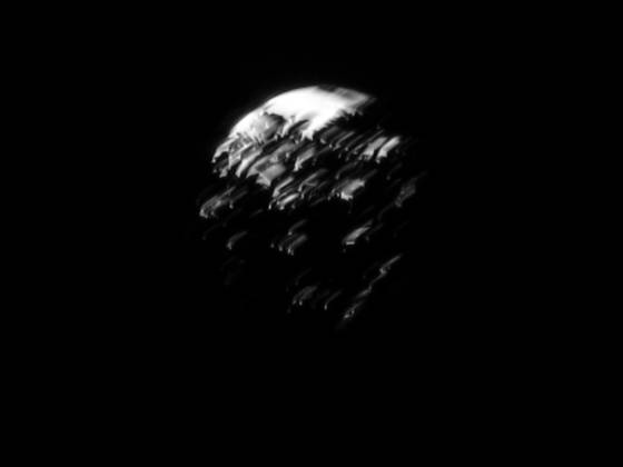 Escher moon