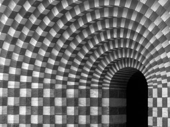 Portal in mogno