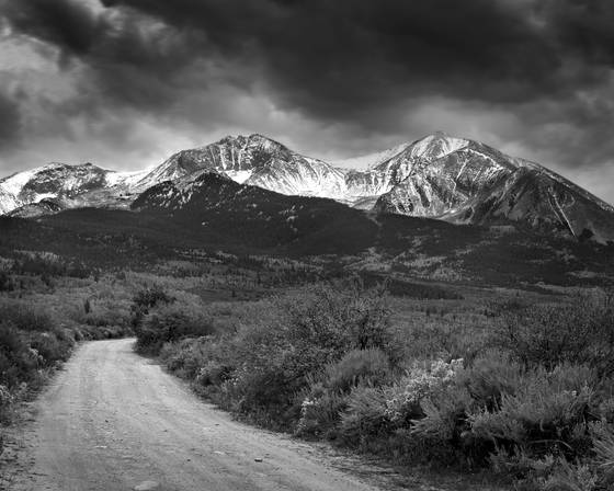 Road to sopris