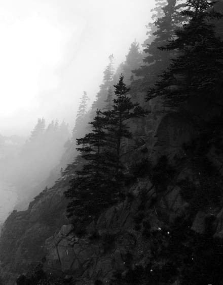 Early morning cliffside