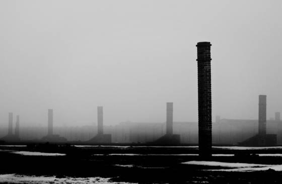 Auschwitz sad landscape  3