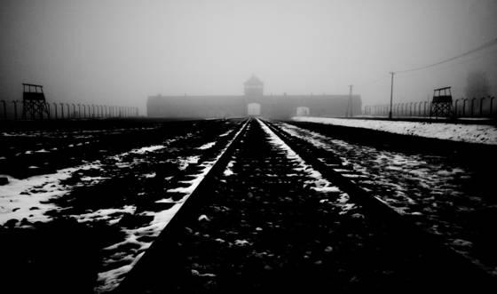 Auschwitz sad landscape  7