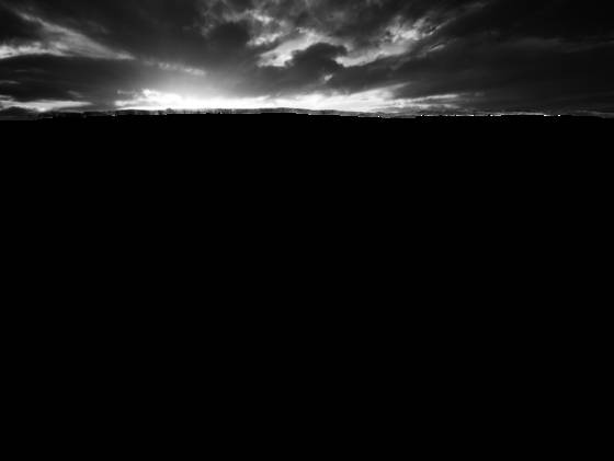 Horseshoe bend noir
