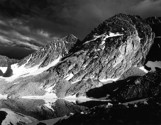Trinity peaks and lake