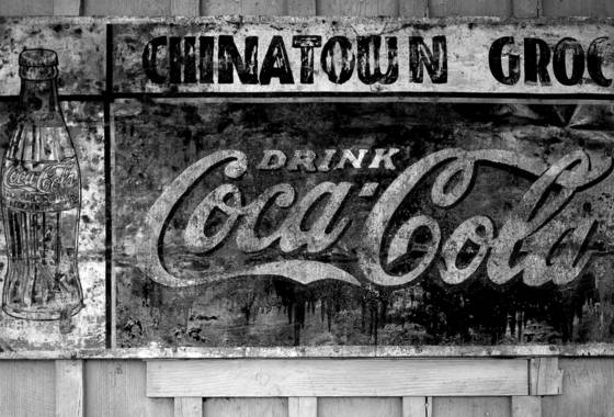 Cola sign
