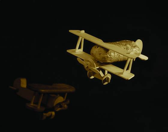 Flying baguette