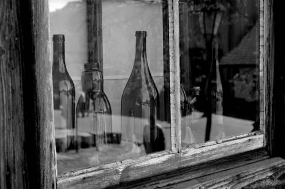 Bottles in lanckorona