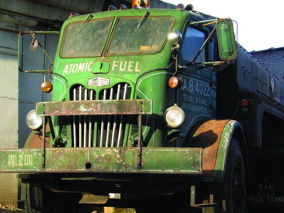 Atomic oil truck