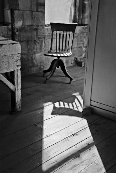Chair and shadow