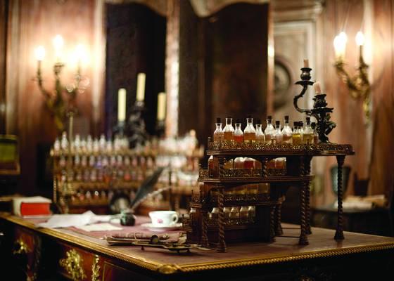 Perfumers desk