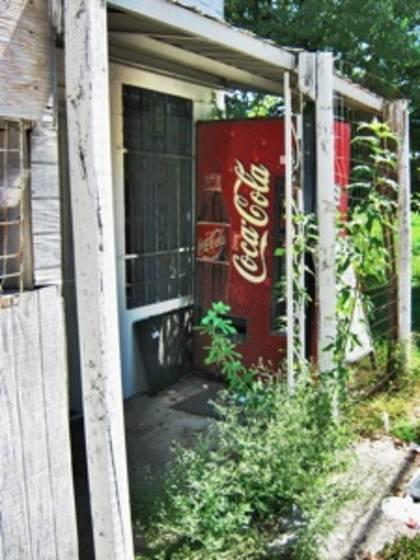 Coke machine  108