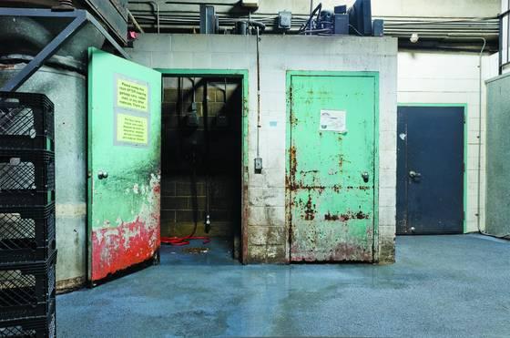 Student center loading dock