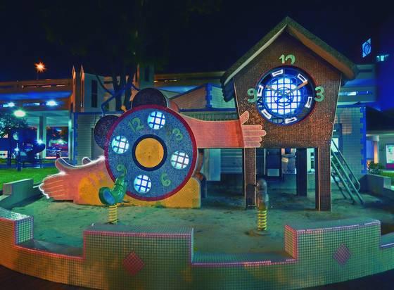 Clock playground