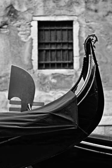 Gondolas and window