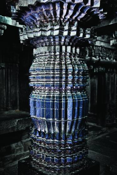 Hoysala style column