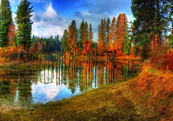 A cocolala creek fall