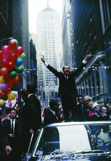 Nixon on lasalle street