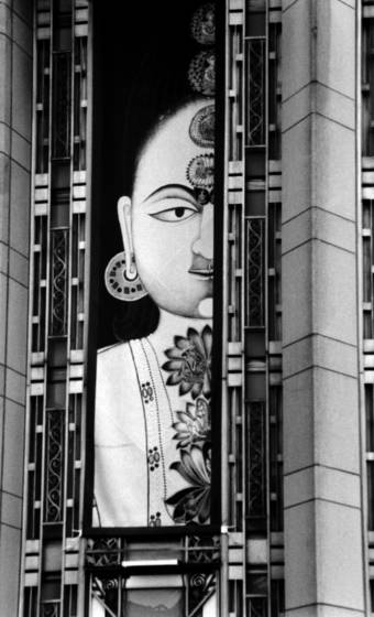 Art deco with a touch of india