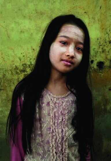 Young girl long hair