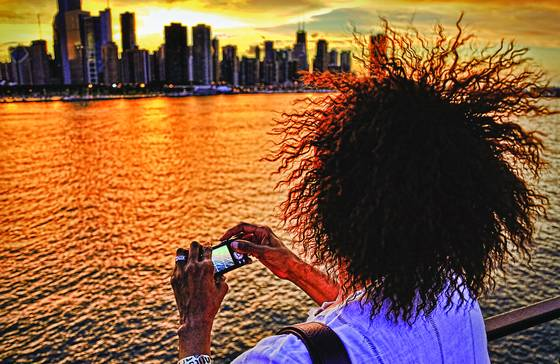 Frans hair   skyline