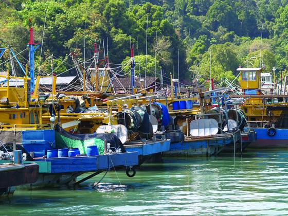 Hues of malay vessels 1
