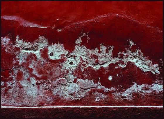 Deep red wall