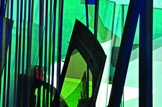 Kidwell s glass abstract ii