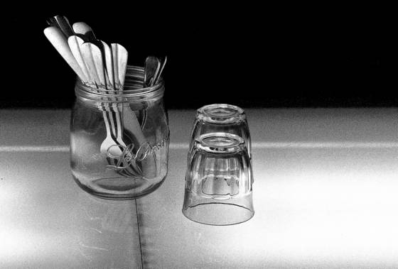Flatware and glasses
