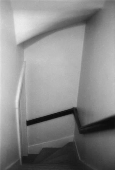Farm stairway