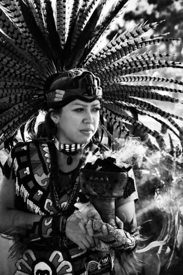 Toltec shaman