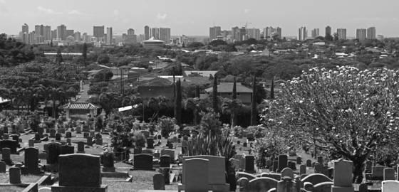 City of headstones