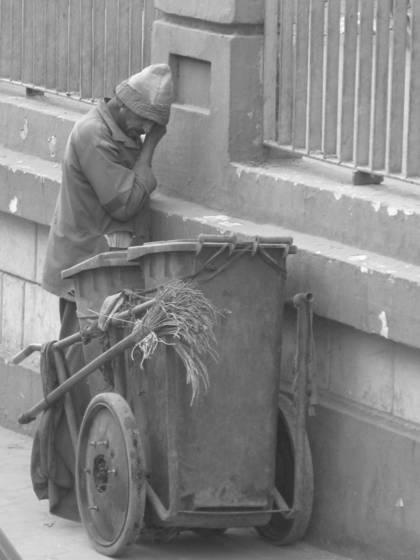 Trash man