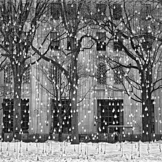 60 watt snowfall