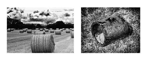 Diptych 4  the flow of time