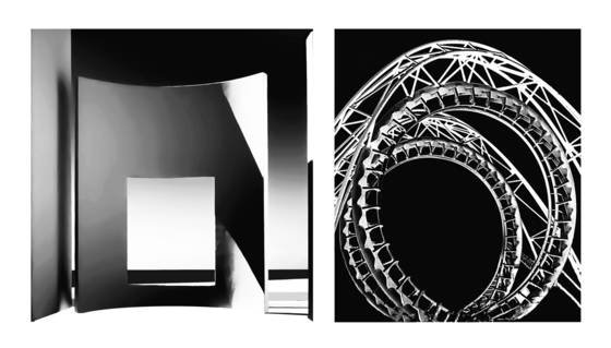 Diptych 5   spaces