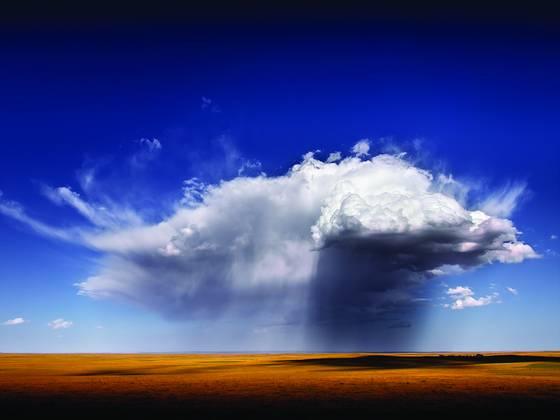 Parched prairie rain i
