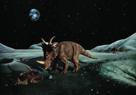Styracosaurs on iwasaki moon