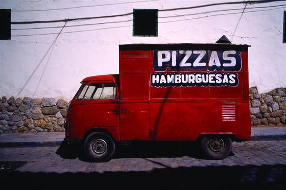 Pizza car